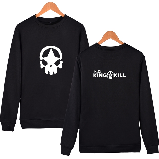 Battle Royale Game H1Z1 King of the Kill H1Z1 Hoodies Fashion Casual  Clothing H1Z1 Capless Sweatshirts-in Hoodies & Sweatshirts from Men's  Clothing &