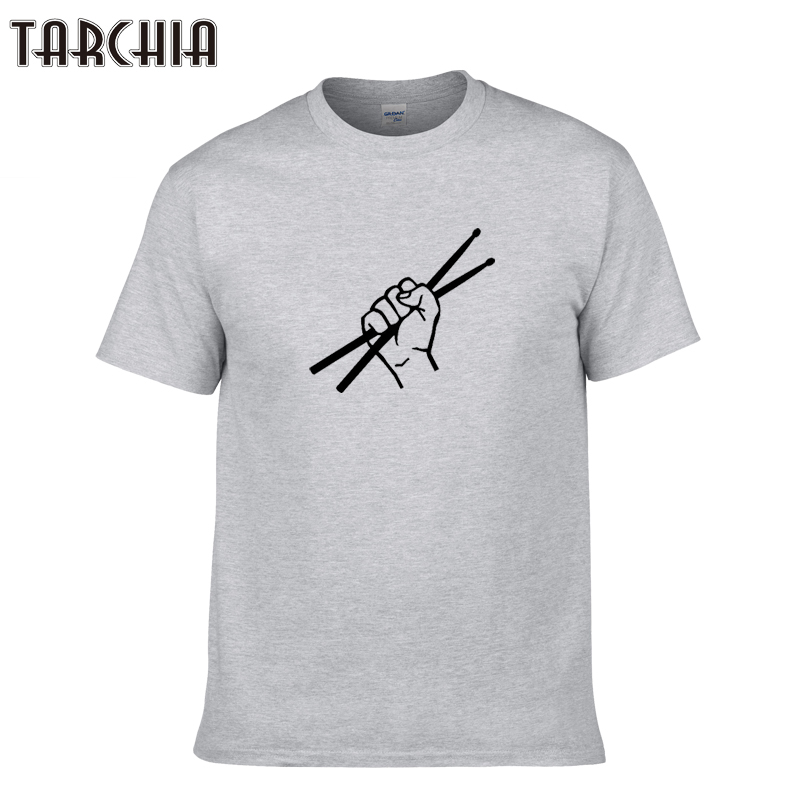 TARCHIA 2019 new pullover drum male fashion t-shir cotton men short sleeve boy casual homme tshirt tops tees plus