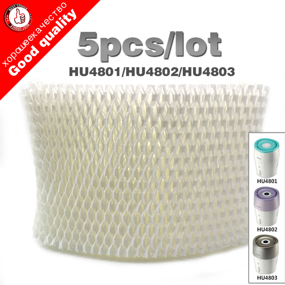 5pcs/lot OEM HU4102 Humidifier Filters,Filter Bacteria And Scale For Philips HU4801/HU4802/HU4803 Humidifier Parts