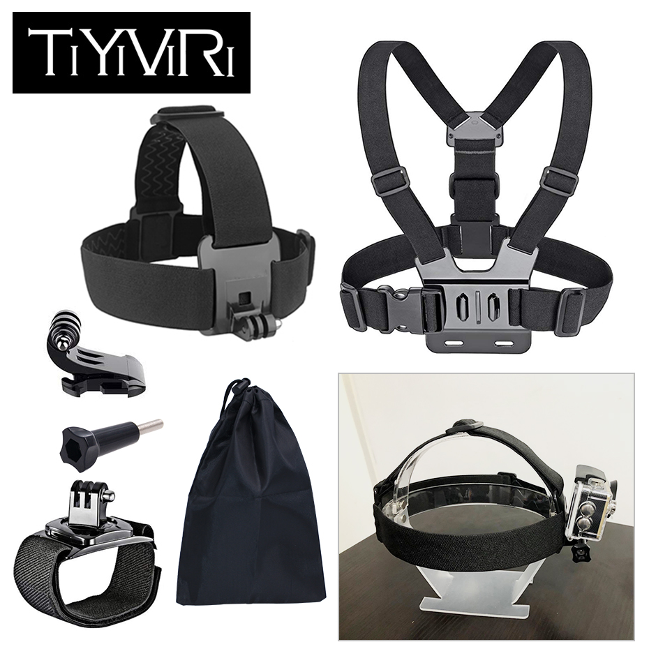 Accessories Set For Gopro Hero 6 5 Chest Mount Head strap Band For Go pro Hero 5 Float Grid For Xiaomi Yi 4K SJCAM Action CameraAccessories Set For Gopro Hero 6 5 Chest Mount Head strap Band For Go pro Hero 5 Float Grid For Xiaomi Yi 4K SJCAM Action Camera