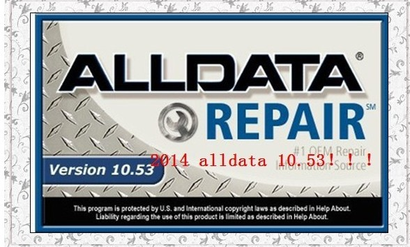 2015 Alldata 10.53 work on win8 system and mitchell on demand software good quality DHL free shipping dhl free shipping mitchell 2015 car repair software fits car from 1984 to 2015 work for any computer and no limited to use