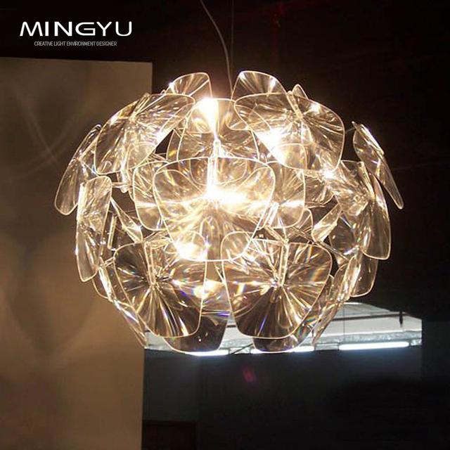 Modern led crystal chandelier lamp foyer hotel restaurant living modern led crystal chandelier lamp foyer hotel restaurant living room leaf shape plates art decorative chandelier aloadofball Image collections