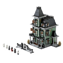 LEPIN 16007 Monster fighter The haunted house Model Building Block Kids Minifigure Bricks Toys Compatible With Legoed 10228 Gift