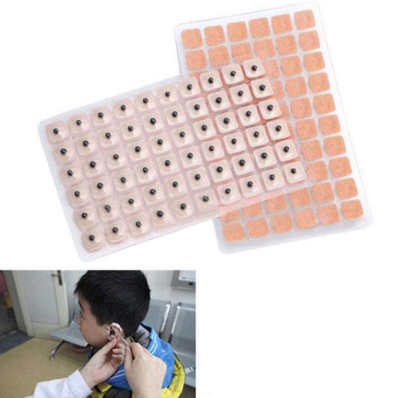 600pcs 3000pcs Acupuncture Needle Ear Seeds Massage Paste Ears Stickers Auricular Vaccaria Press Seed 88 Hot Dropshippi in Massage Relaxation from Beauty Health
