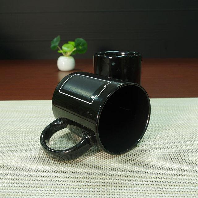 Battery Color Changing Ceramic Magic Mug