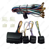 Universal Power Window 8pcs Switches With Holder And Wire Harness SKU 2469