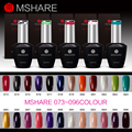 MSHARE LED UV 15ML Nail Gel Polish Long Lasting Gel Lacquer DIY Nail Art Colorful Germeny Material Gel Nail Manicure 120 Colors