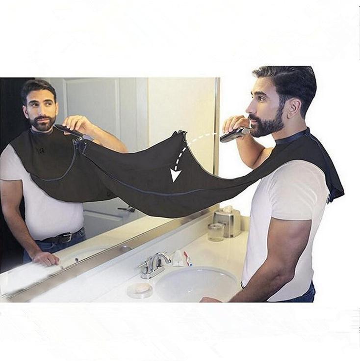 Mann Bad Bart Pflege Trimmer Haar Rasur Schürze Robe Tool Bad - Haushaltswaren - Foto 3