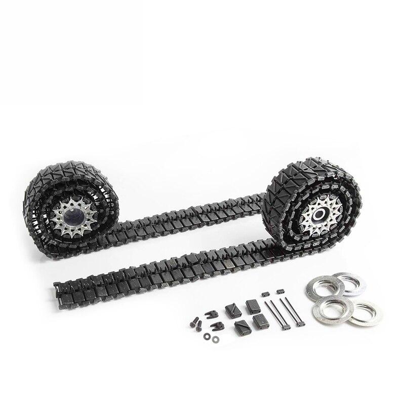 MATO 1:16 Henglong 3838 US Pershing M26 Remote Control Tank Black Metal Track Drive Wheel Kit