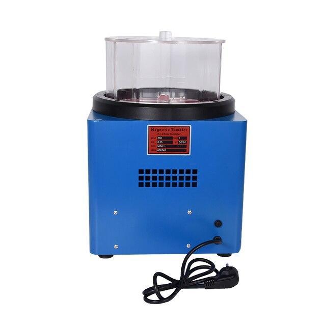 KT-280 gobelet magnétique bijoux polisseuse 1100g ferromagnétique puissant magnétique précision pièces polissage Machine 110V/220V