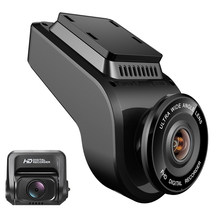 YANTU 4K Dash Camera 2160P with 1080P Rear Cam Built in GPS tracker WDR Night Vision Novatek96663 Car DVR Video Recorder WiFi(China)