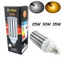 Médio Base de Parafuso LEVOU Luz Milho 25 W 30 W 35 W E26/E27 Lâmpada para Jardim Rua Caminho comercial Iluminação Highbay LED Retrofit lâmpada