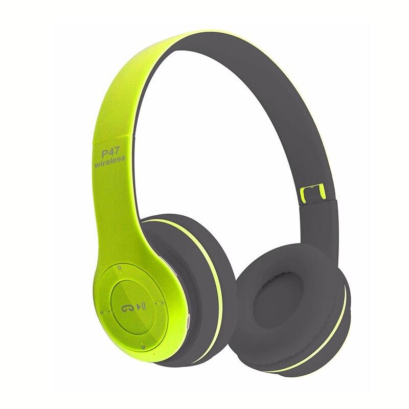 bilder für Wireless Headset Bluetooth 4,1 Kopfhörer mit Mic Stereo Kopfhörer mit FM Radio unterstützung Micro SD Spielen/3,5mm Linie In