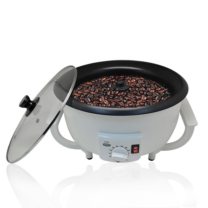 Coffee Bean Roaster Electric Household Coffee Roaster Machine Roasting Durable Non-Stick Coating Baking Tools Capacity 750g цена