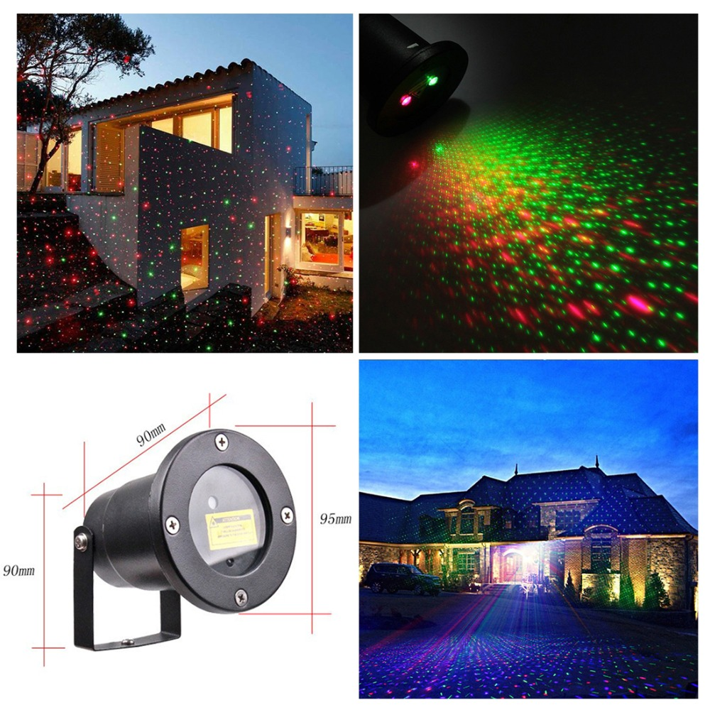 Outdoor Laser Lights Waterproof Laser Light Christmas