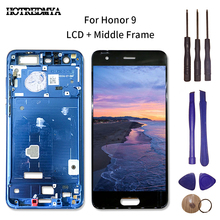 5.15 inch LCD Display For Huawei Honor 9 STF-L09 STF-AL10 STF-AL0 Touch screen Digitizer Assembly With Frame Free Tools