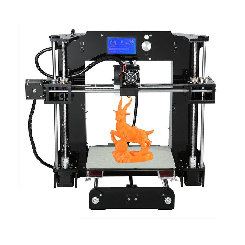 Anet A6 A8 3D Printer Kit Nieuwe Prusa I3 Reprap/Sd kaart Pla Plastic Als Geschenken/Extra Soplo nozzle Express Verzending Van Moskou - 3