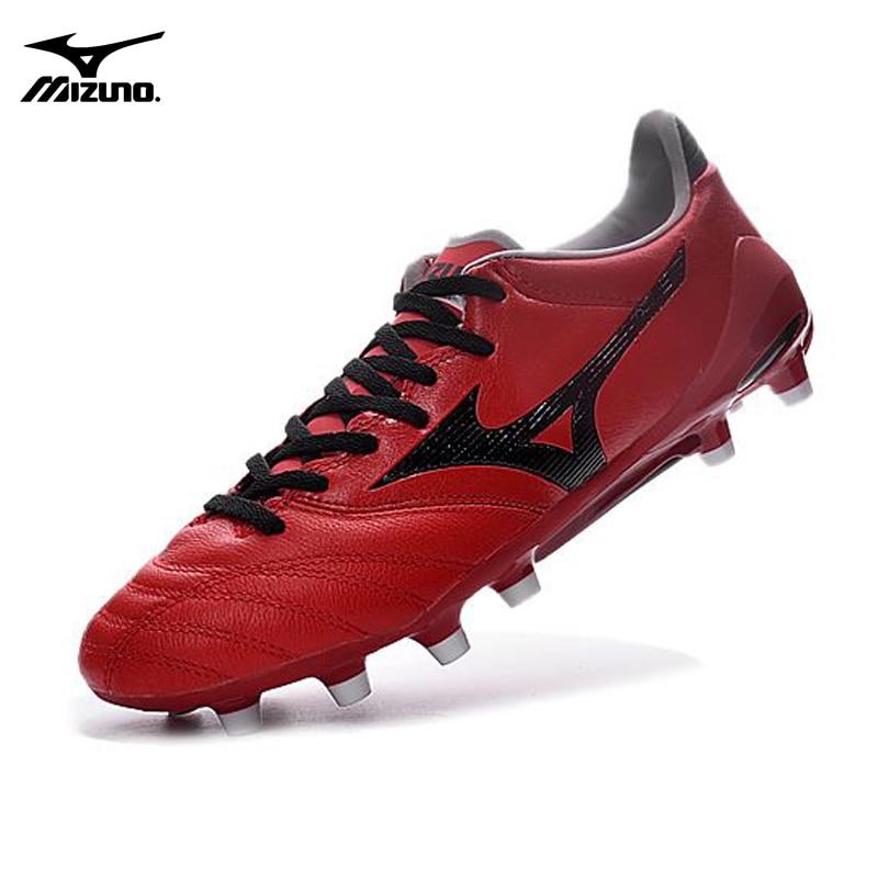 Mizuno Mizuno NEO II TF 4MD Basara FG Soccer Spikes Mizuno Wave Ignitus Red Men Running shoes Weightlifting Shoes Size 39-45
