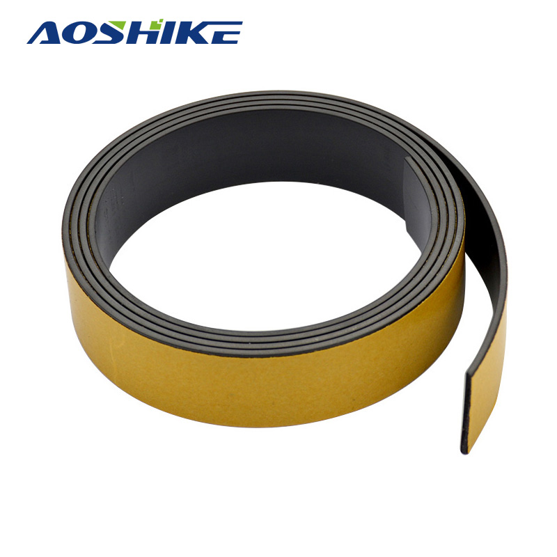 1M Magnetic Stripe 20*1.5MM Rubber Magnets Paste Sided Adhesive Can Cut All Kinds Of Shapes Magnetic Tape For School Home new 3 meter 12 7 x 1 5mm self adhesive rubber magnetic tape magnet strip strong suction can cut a variety of shapes diy