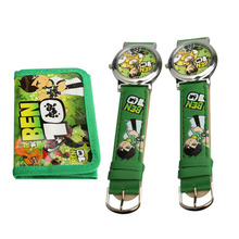 Hot Sell Quartz Watch Cartoon Watches for Kids Special BEN 10 Cute Sporting Center Digital Wristwatches Clock Rando  Color