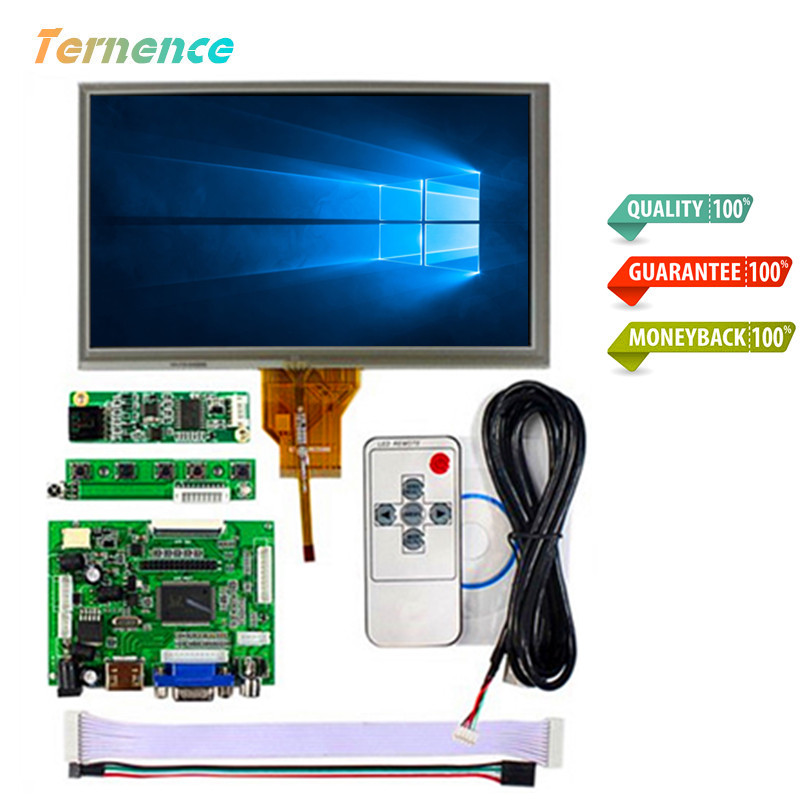 skylarpu for INNOLUX Raspberry Pi LCD Touch Screen Display TFT Monitor AT070TN92 + Touchscreen Kit HDMI VGA Input Driver Board skylarpu 7 raspberry pi lcd touch screen display tft monitor at070tn90 lcd display touchscreen kit hdmi vga input driver board