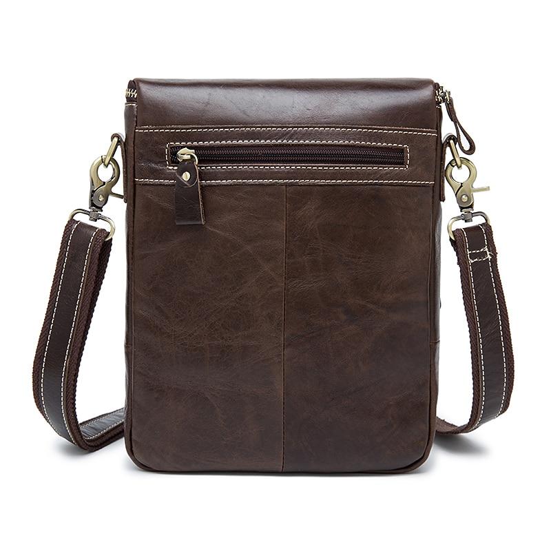 sacs Hommes vintage messenger peau cuir dans de à couche de unique head qualité sacs chaîne bandoulière ox sacs véritable facteur haute sacs casual Fq4pqf