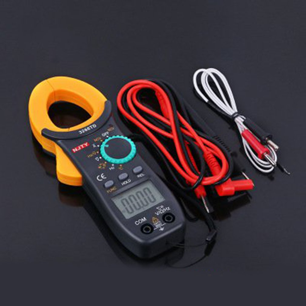 Digital Clamp Meter Universal Handheld AC/DC Multimeter Current Clamp Pincers Voltmeter Ammeter Ohm Current Voltage Tester цена