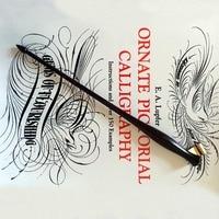 New Handmade Oblique Calligraphy Dip Pen Holder Copperplate Script Dip Pen
