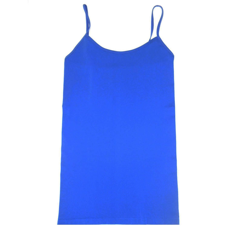 Sin costura damas Cami fino básico Correa activa, ropa de Color sólido camisola-in Camisola from Ropa de mujer    1
