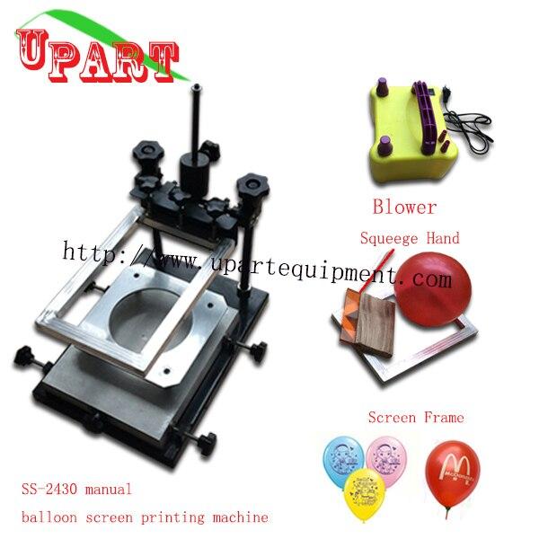 DIY трафаретная машина принтера для воздушных шаров, шелкотрафаретной печати, машины, шар экран принтера