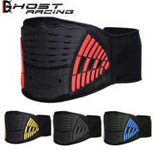 GHOST RACING Motocross Motocycle Riding Racing Protection Kidney Belt Waist Support Black Off-Road Protective Gear Protector riding tribe over ankle motocycle boots dirt bike off road racing riding shoes moto motocross racing boots black big 45 a008