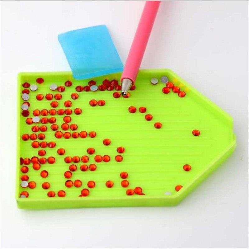 3Pcs/set Nail Art Dotting Pen + Rhinestone Picker Gel Cube + Plate Nail Manicure Tools Nail Art Manicure Lacquer