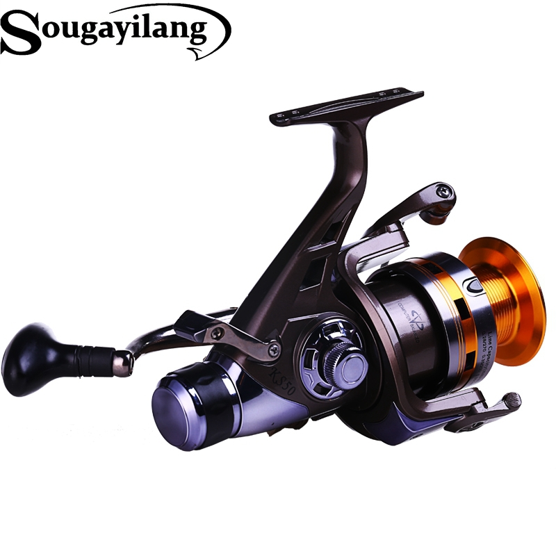 Sougayilang carp fishing reel 10bb 5 2 1 full metal body for Sougayilang spinning fishing reels