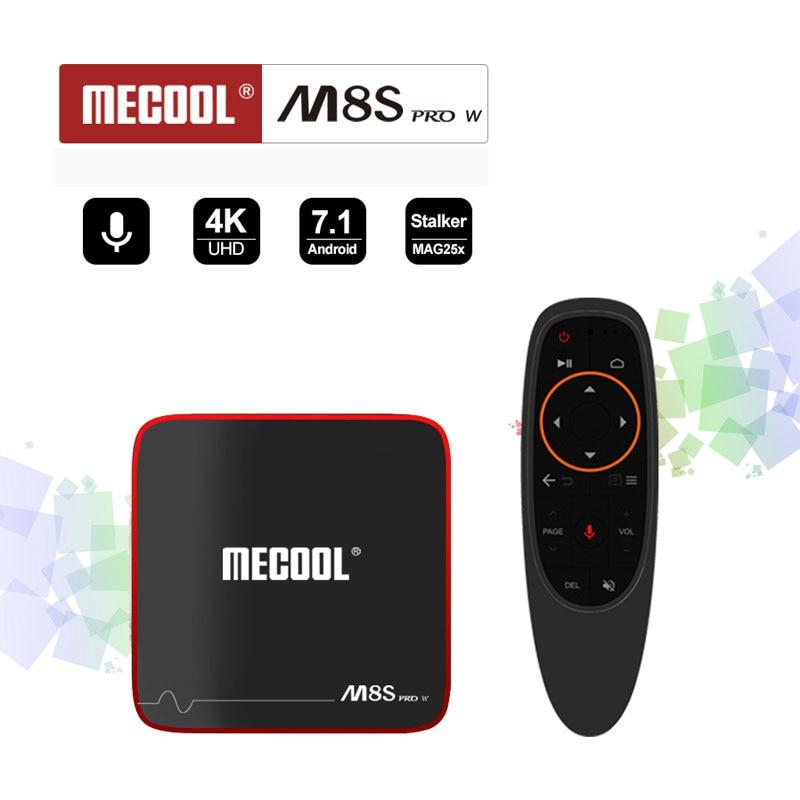 MECOOL M8S PRO W Amlogic S905W Quad Core 2GB Ram 16GB Rom Android 7.1 H.264 4K 1080P 2.4G Wifi BT4.0 Set Top Box Youtube Movice