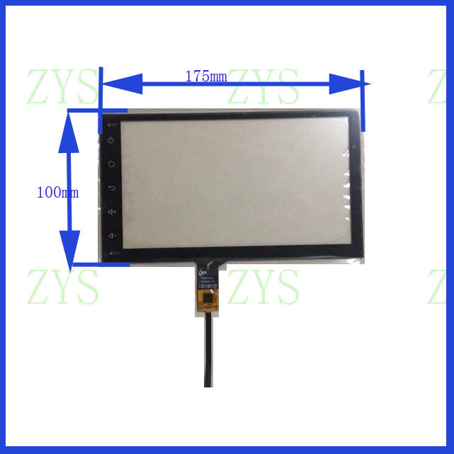 NEW 7inch XY-PG70049-FPC for Ezone android car audio 6lines CAPACITIVE screen panel  175mm*100mm  TouchSensor NEW 7inch XY-PG70049-FPC for Ezone android car audio 6lines CAPACITIVE screen panel  175mm*100mm  TouchSensor