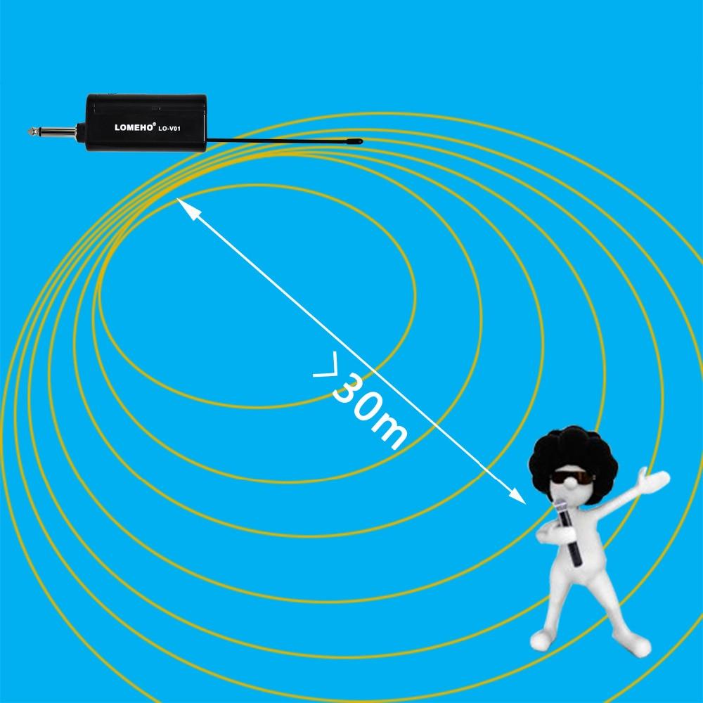 1 Way Metal Handheld Transmitter Wireless Microphone Outdoor Portable Wireless Mic Camera Microphone Party Karaoke Microphone