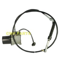 DH220 5 SL220 V Throttle Motor for 2523 9014 Doosan Daewoo Excavator with round base, 6 month warranty