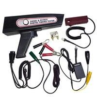 디지털 디젤 및 가솔린 엔진 타이밍 라이트 다기능 타이밍 건 12V /24V 엔진 분석기 Tach Dwell Volt Advance