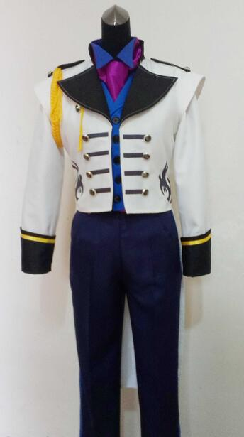 2016 Prince Hans Cosplay Costume Suit Outfit Costume Movie Cosplay Costume
