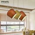Лофт промышленный бобовый стебель креативный минималистичный скандинавский Железный художественный стеклянный шар подвесной светильник ...