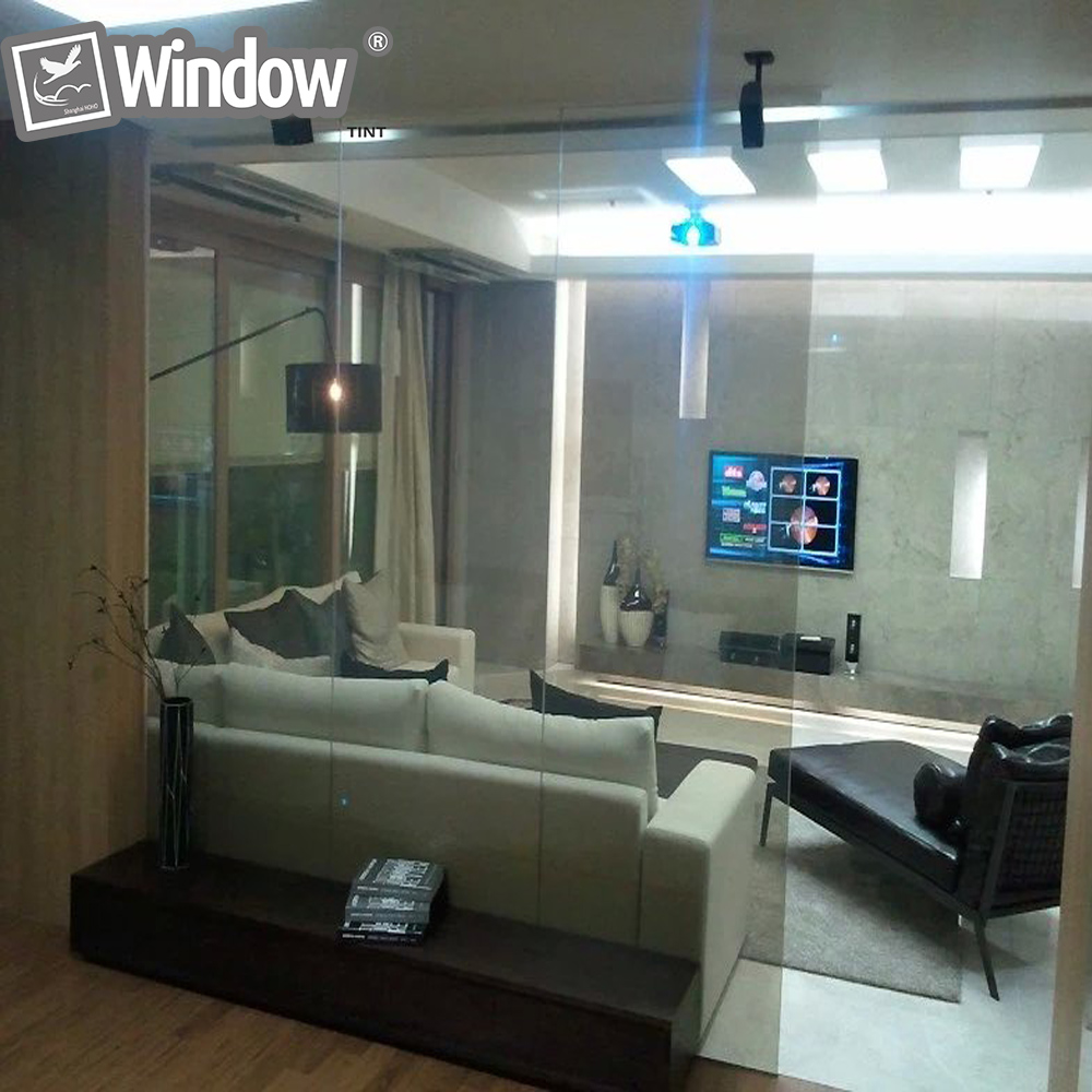 ФОТО  210 * 297mm WHITE Smart Switchable Glass Film  A4 Sample