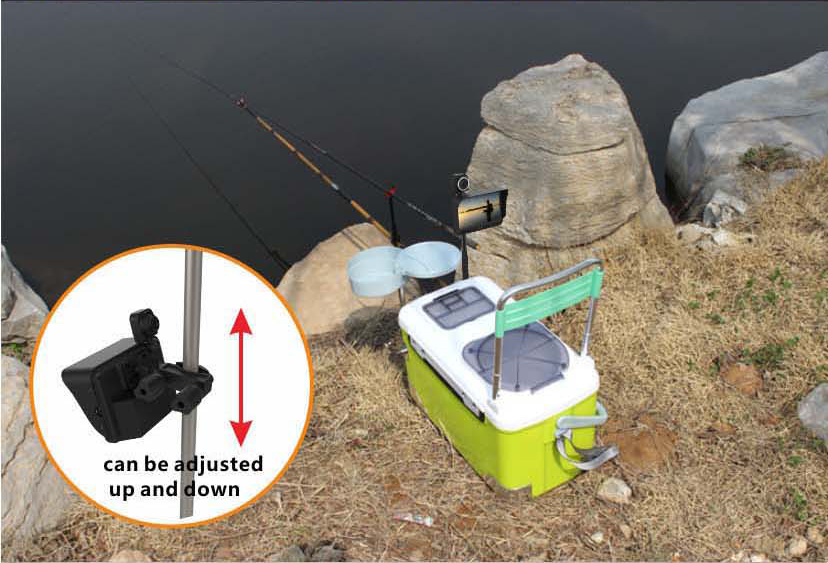 HD Underwater Video Camera System with 4.3 LCD Monitor 4000mAh Battery Built-in & 20M 2MP Fishing Camera and AHD Camera on LCD_14
