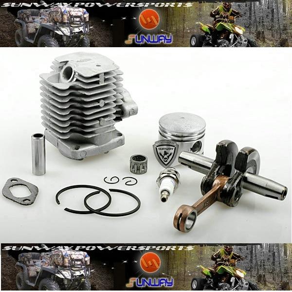2 Stroke 44-6 Engine Kit  11pcs/Set , for Pocket bike ,Mini bike,Cross Bike,Mini dirt bike, Free Shipping! куплю новый мини спортбайк pocket bike в украине