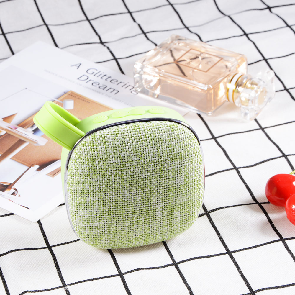 x25 Fabric art Wireless Bluetooth Speaker waterproof mini audio Portable outdoor mini speaker support TF card subwoofer 3W in Portable Speakers from Consumer Electronics