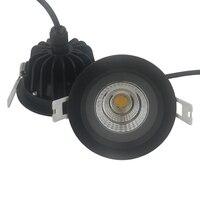 ניתן לעמעום led תקרת אור 5 w 7 w 10 w 12 w אורות תקרת cob ספוט מנורת ac85v ~ 265 v לתאורת הבית free חינם