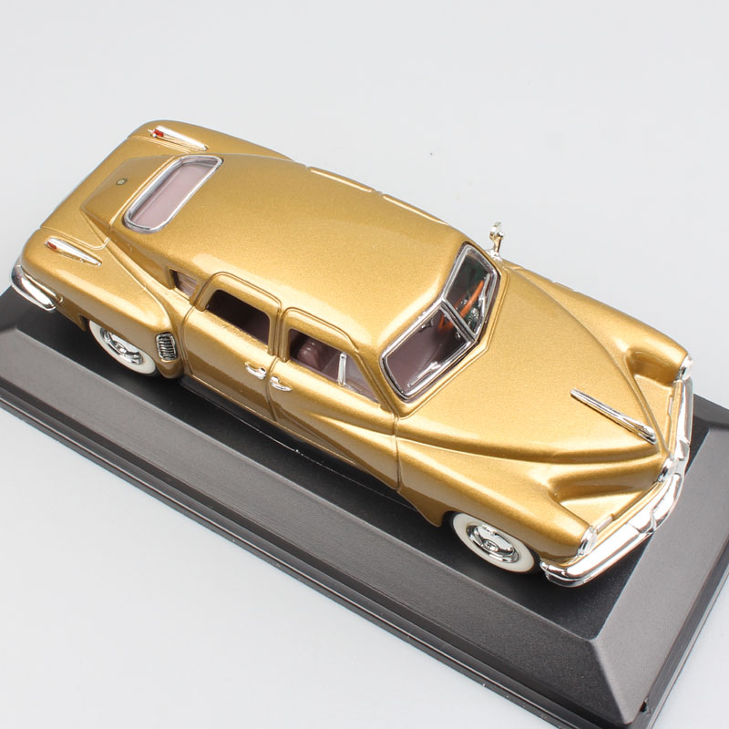 1/43 Scale lucky 1948 Trucker Torpedo trucker 48 diecast & vehicles model miniature cars replica toy for kids collection gifts