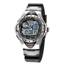 100 Meters Waterproof Top Fashion Brand Luxury Military Dive Quartz Watch Men Women Hiking Sports Digital LED Wrist Watch