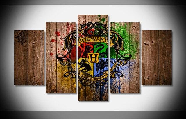 8265 Harry Potter Hogwarts Wood Movie Film poster Framed Gallery ...