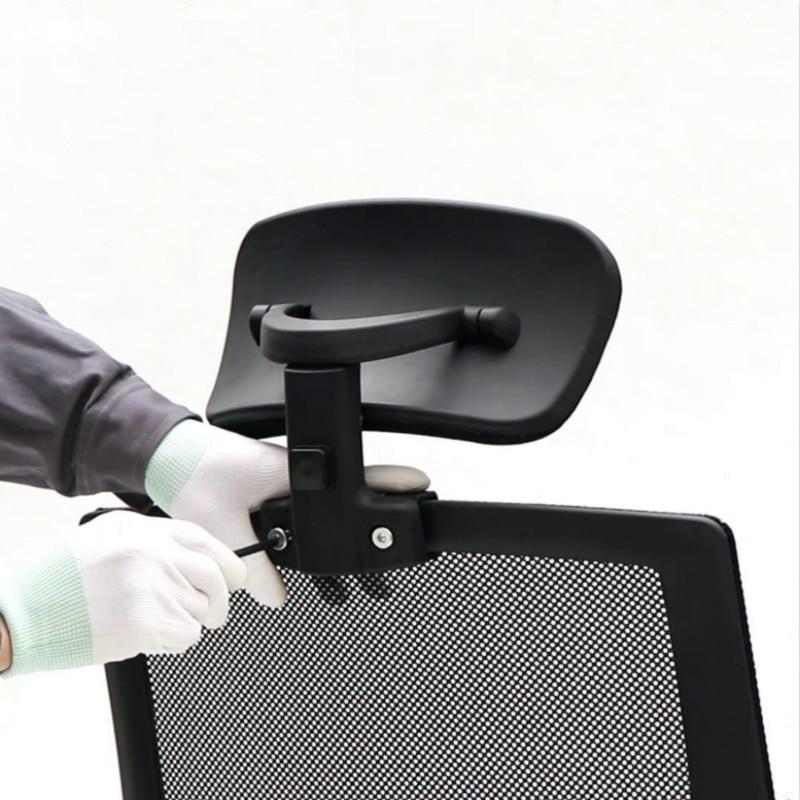 머리 받침 사무실 컴퓨터 회전 리프팅 의자 조정 가능한 머리 받침 사무실 의자 액세서리 목 보호 베개