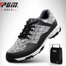 Men's 3D gas guide groove Patent Design Golf Shoes Breathabl